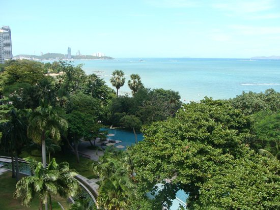 Pullman Pattaya Hotel G: Вид на бассейн