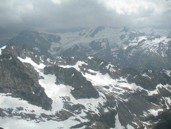 Mount Titlis : la vista de las montañas