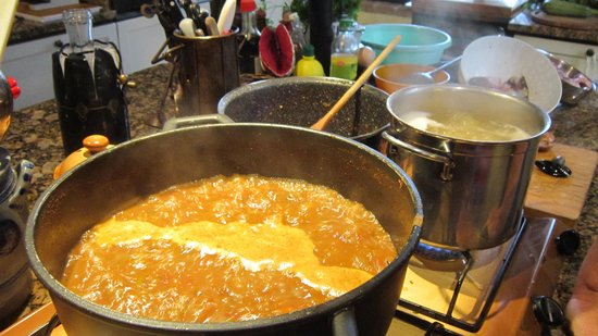Poderi Val Verde - Chianti Cooking Lesson: Fischsuppe