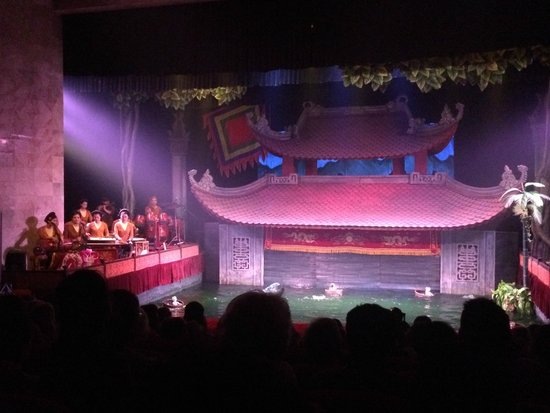 Thang Long Water Puppet Theater : Marionetas de agua