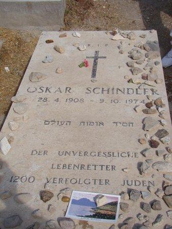 Schindler's Grave: Actual Grave