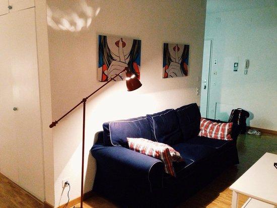 Maraini Resort: Sofa...
