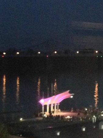 Hampton Inn & Suites Downtown Owensboro/Waterfront : View