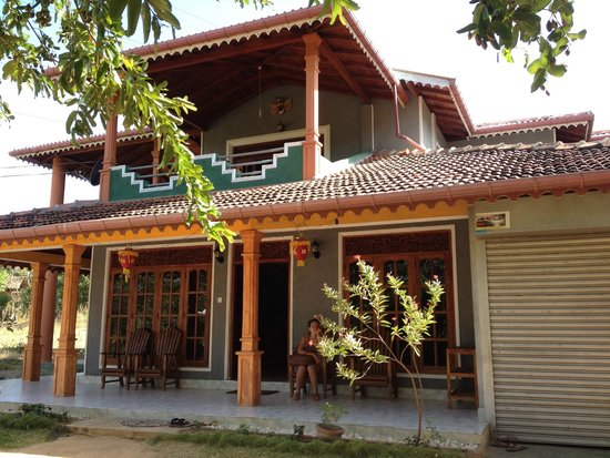 Sinhagiri Villa: Vue de la guesthouse