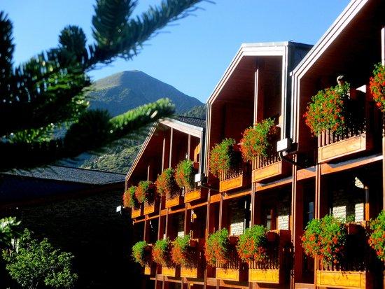 """Hotel Nordic: Balcones con """"vistas"""""""