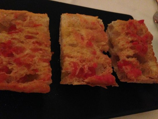Centfocs: Bread with tomato starter