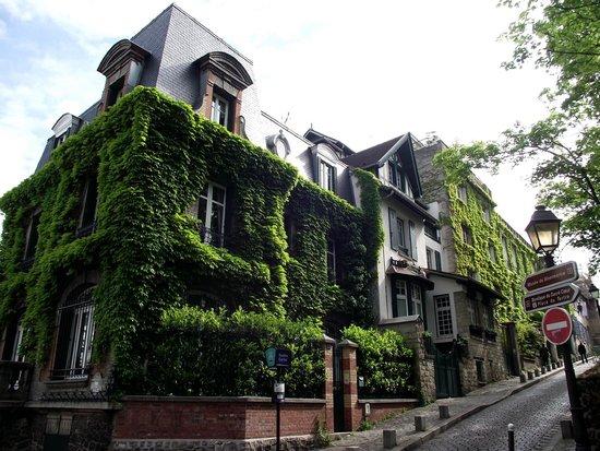montmartre uma de vrias casas lindas do bairro
