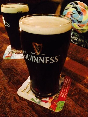 O'Kellys Irish Pub: Of course when you are in an Irish pub...Guinness! Such a special taste!