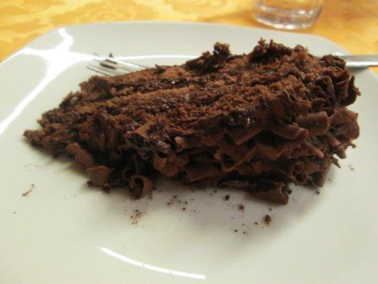 Hotel Pineta Mare : torta cioccolato