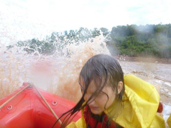 Shubenacadie River Runners: overwhelmed by waves