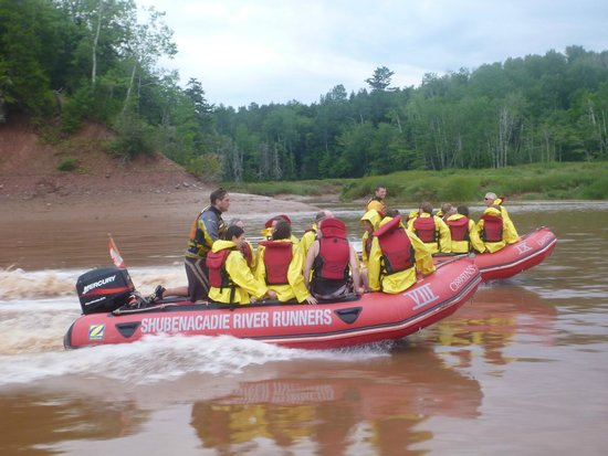 Shubenacadie River Runners: heading back