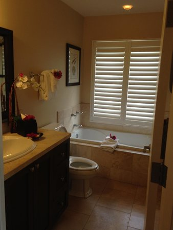 Villa del Mar: nice bathroom with separate shower