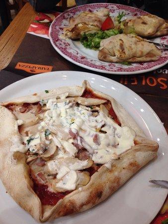 Tabla Pizza : Très très bon