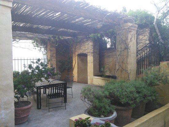 Auberge Burgundy: giardino