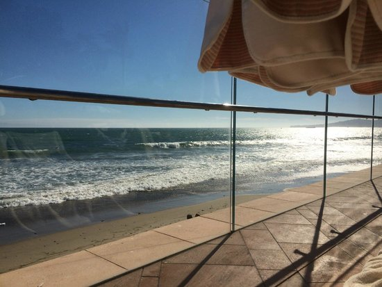 Four Seasons Resort The Biltmore Santa Barbara: Gorgeous view of the Pacific from the Coral Casino Club!