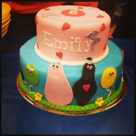 Le torte di Marzia: Torta Barbapapà