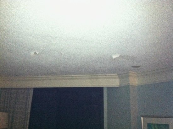 Hilton Sandestin Beach, Golf Resort & Spa : Ceiling stained and peeling away