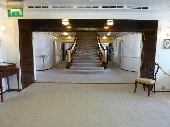 Royal Yacht Britannia: Stair case
