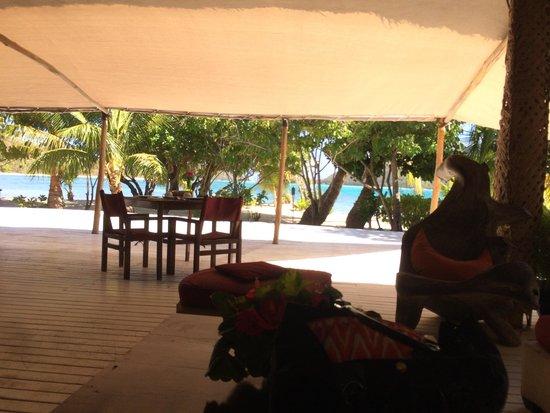 Navutu Stars Fiji Hotel & Resort: Dining area