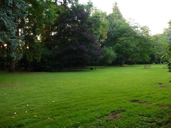 Manoir de la Maison Blanche : Un gran jardín...