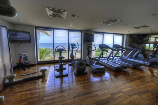 InterContinental Mauritius Resort Balaclava Fort : Salle de Gym