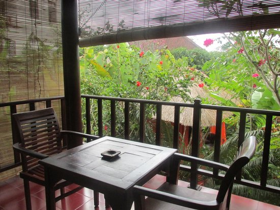 Tropical Bali Hotel: Balcon