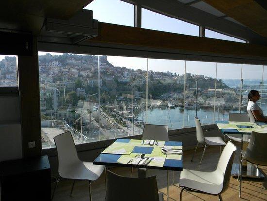 Airotel Galaxy: Restaurant view