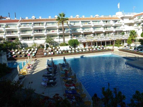 AquaLuz Suite Hotel: vista dal mio terrazzo