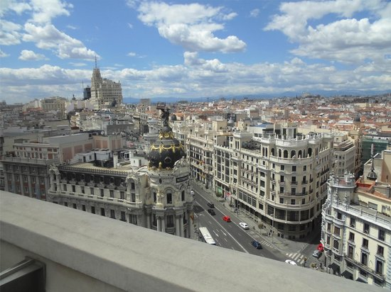 Views Of Madrid From Azotea Rooftop Terrace Picture Of