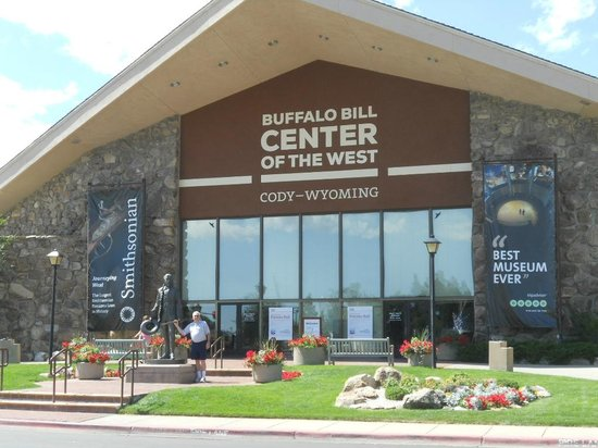 Entrance to Buffalo Bill Center of the West in Cody, WY