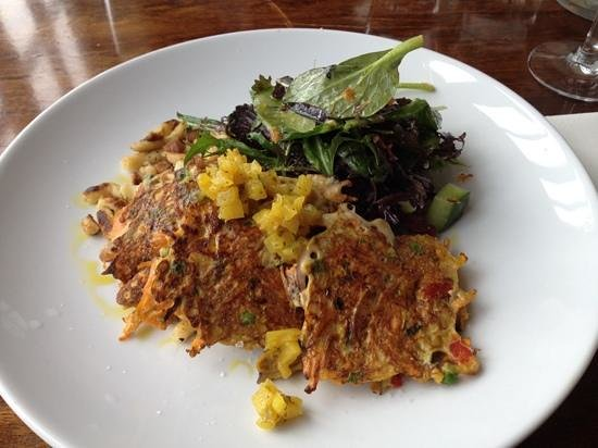 Bloom Restaurant: vegetable fritters