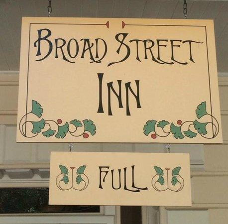 Broad Street Inn: Understandably so!