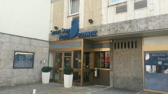 Smart Stay Hotel Schweiz: Der Eingangsbereich