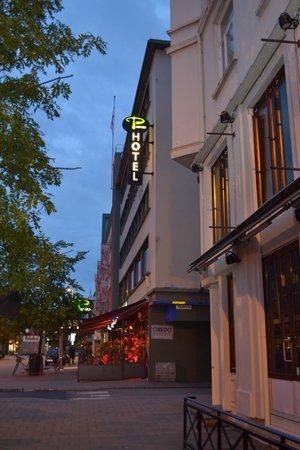 P-Hotels Trondheim : Buitenkant hotel