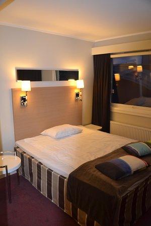 P-Hotels Trondheim: Comfortabel bed
