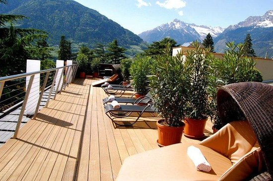Park Hotel Mignon & Spa: Mountains View