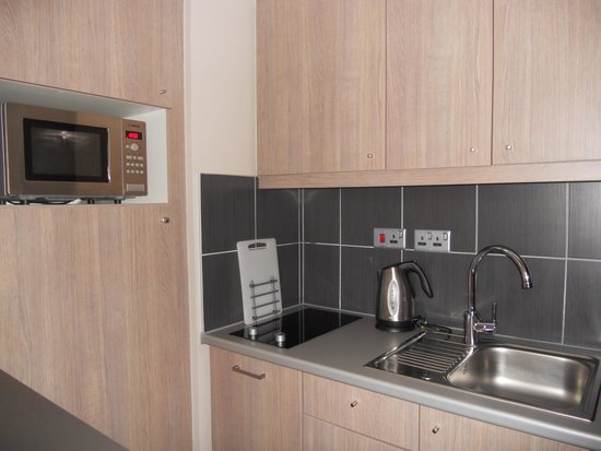 Aparthotel Adagio Liverpool City Centre : Cucina (attrezzatissima!)