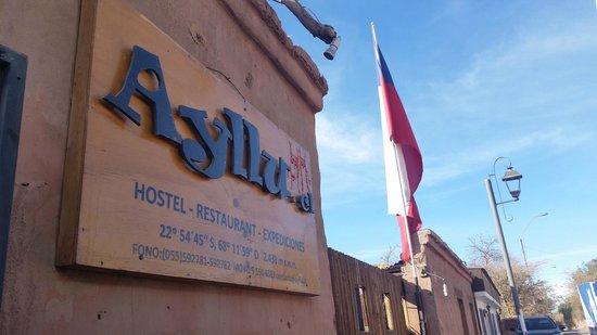 Ayllu Hostel : Fachada