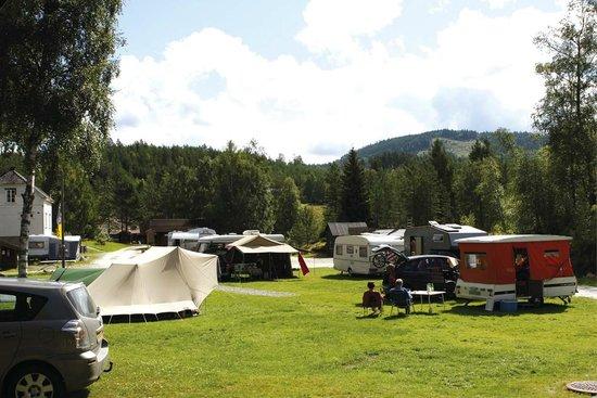 Oddestemmen Steinsliperi og Camping: the camping