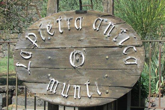 La Pietra Antica O'Munti Turismo Rurale: Ingresso