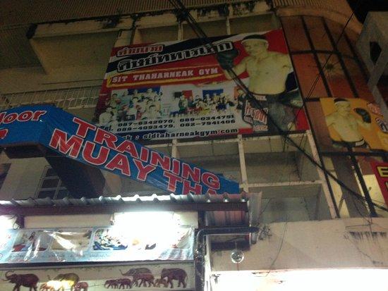 Sit Thaharnaek Muay Thai: Gym