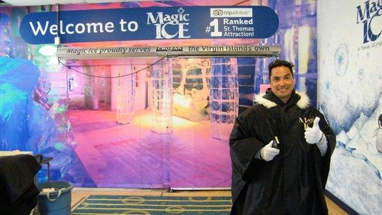 Entrando a Magic Ice
