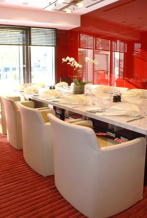 Radisson Blu Hotel, Berlin: Flame, Private Dining Room at Restaurant HEat