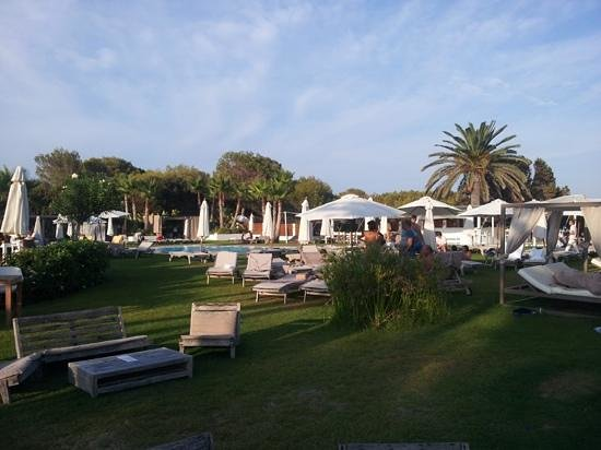 Gecko Hotel & Beach Club : zona chill out