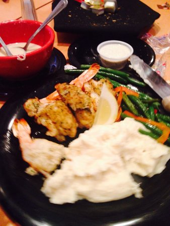 Route 12 Steak & Seafood: Stuffed shrimp