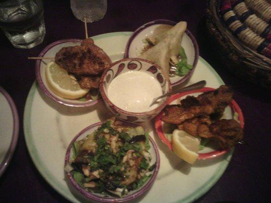 Restaurante Souk: Tapas