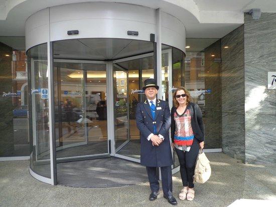 Radisson Blu Portman Hotel, London : Sr. mt atencioso, meus agradecimentos!