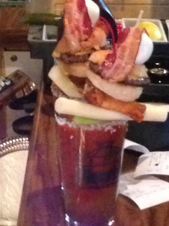 Newt's North: Ultimate bloody Mary was awesome