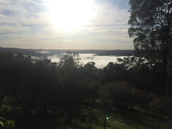 Nannup Hideaway Spa Cottages & Retreats: View from the balcony