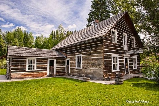 Barkerville, Canada: Cottonwood House